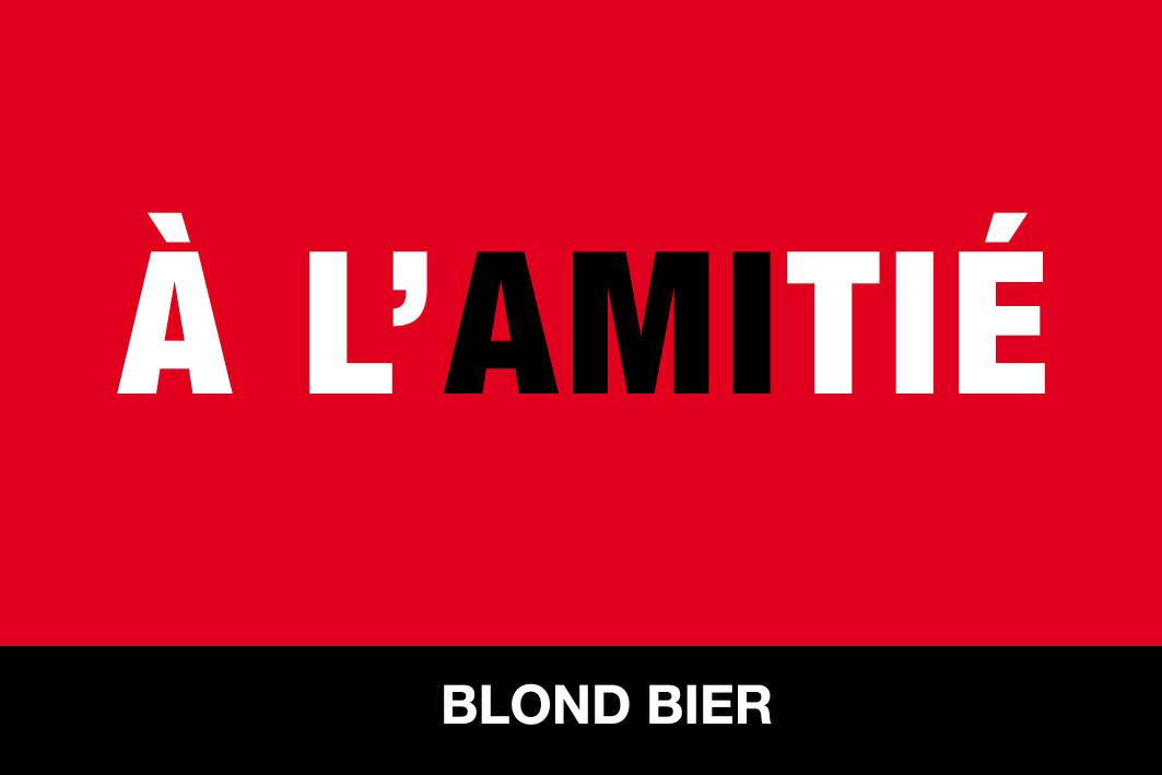 A l'AMITIE_etiket